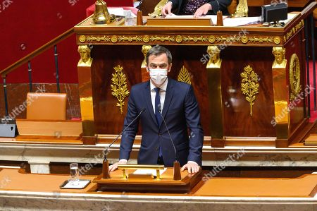 Editorial photo of Olivier Falorni presents his proposed law for a free and chosen end of life, Paris, France - 08 Apr 2021