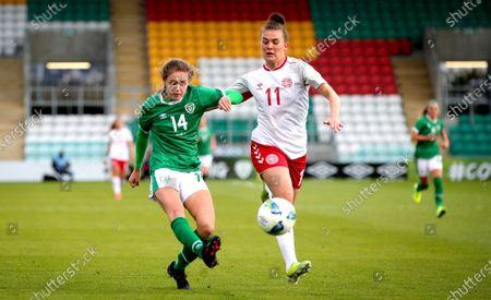 Editorial photo of Women's International Friendly, Tallaght Stadium, Dublin - 08 Apr 2021