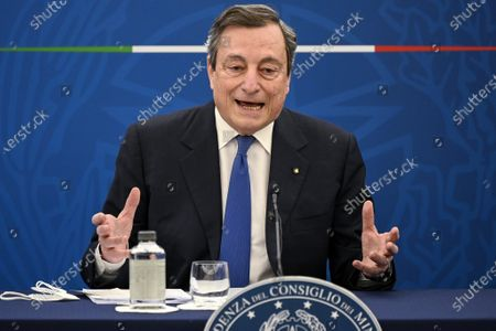 Editorial image of Politics Draghi, Rome, Italy - 08 Apr 2021
