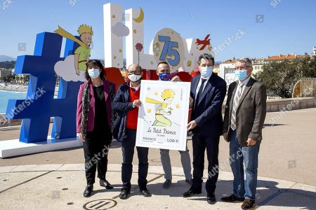 Editorial image of Launch of 'Le Petit Prince' stamp, Nice, France - 08 Apr 2021