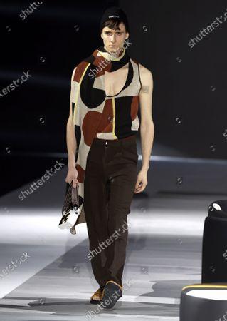 Editorial photo of Pablo Erroz - Runway - Mercedes-Benz Fashion Week Madrid FW 21/22, Spain - 08 Apr 2021