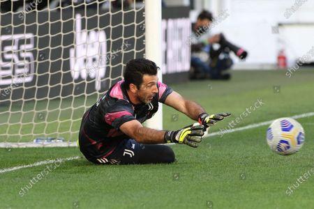 Gianluigi Buffon (Juventus FC) during warm-up