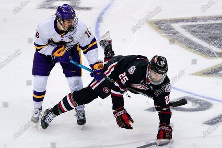 Editorial photo of NCAA St Cloud St Minnesota St Hockey, Pittsburgh, United States - 08 Apr 2021