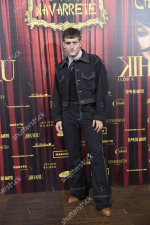 Stock Picture of Alejandro Gomez Palomo Spain' attends 'Teatro Chino' fashion Show photocall at Florida Retiro Theater on April 8, 2021 in Madrid, Spain