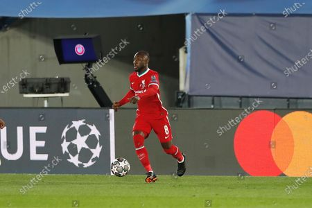 Editorial picture of Soccer : 2020-2021 UEFA Champions League : Real Madrid CF 3-1 Liverpool FC, Madrid, Spain - 06 Apr 2021