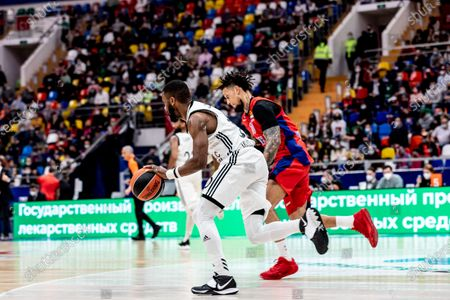 Editorial picture of CSKA Moscow Vs LDLC Asvel Villeurbanne in Moscow, Russia - 08 Apr 2021