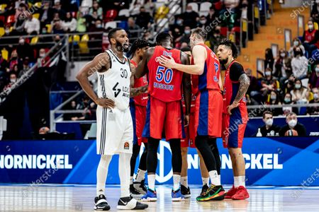 Editorial image of CSKA Moscow Vs LDLC Asvel Villeurbanne in Moscow, Russia - 08 Apr 2021