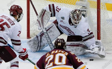 Editorial picture of NCAA Minn Duluth UMass Hockey, Pittsburgh, United States - 08 Apr 2021