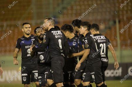 Editorial photo of Monterrey vs Atletico Pantoja, Santo Domingo, Dominican Republic - 08 Apr 2021