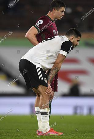 Aleksandar Mitrovic of Fulham at full time