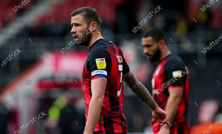 Steve Cook of Bournemouth -  sky bet EFL sleeve badge captain's arm band