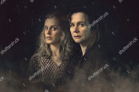 Emily Watson as Dr Emma Robertson and Denise Gough as Connie Mortensen.