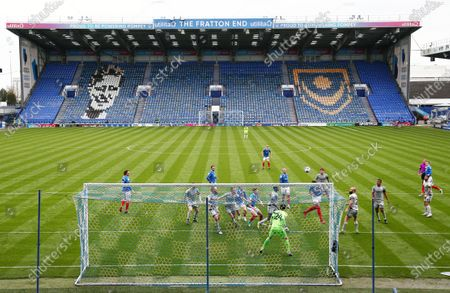 Editorial picture of Portsmouth v Burton Albion, EFL Sky Bet League One, Football, Fratton Park, Portsmouth, UK - 10 Apr 2021