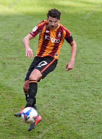 Gareth Evans of Bradford City
