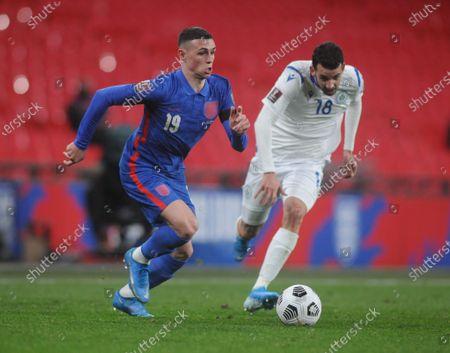 Editorial photo of England v San Marino, 2022 World Cup Qualifier, Group I, Football, Wembley Stadium, London, UK - 25 Mar 2021