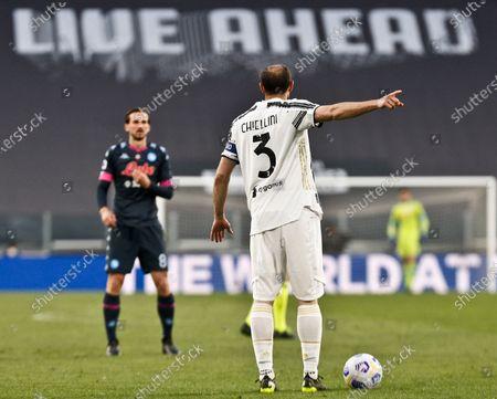 Giorgio Chiellini (Juventus) during the match