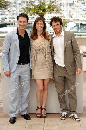 Raul Bova, Stefania Montorsi and Elio Germano
