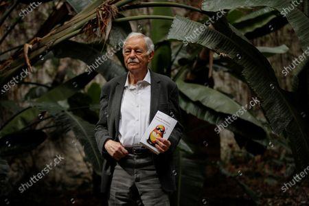 Editorial picture of Eduardo Mendoza presentens his last novel Transfer to Moscow, Barcelona, Spain - 09 Apr 2021