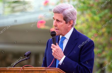 Editorial photo of John Kerry in Bangladesh, Dhaka - 09 Apr 2021