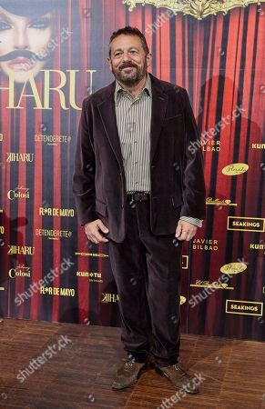 Pepon Nieto attends the fashion show 'Teatro Chino'