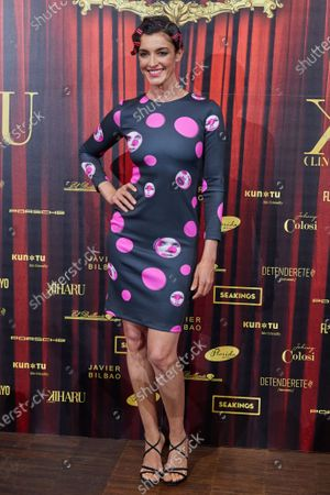 Stock Image of Blanca Romero attends the fashion show 'Teatro Chino'
