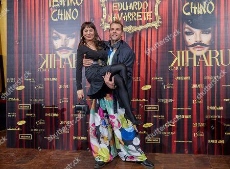 Editorial picture of Eduardo Navarrete show, photocall, Fall Winter 2021/22, Mercedes Benz Fashion Week, Florida Retiro, Madrid, Spain - 08 Apr 2021