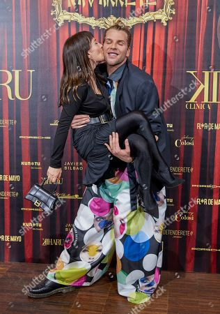 Editorial photo of Eduardo Navarrete show, photocall, Fall Winter 2021/22, Mercedes Benz Fashion Week, Florida Retiro, Madrid, Spain - 08 Apr 2021