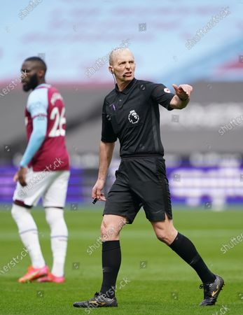 Referee Mike Dean