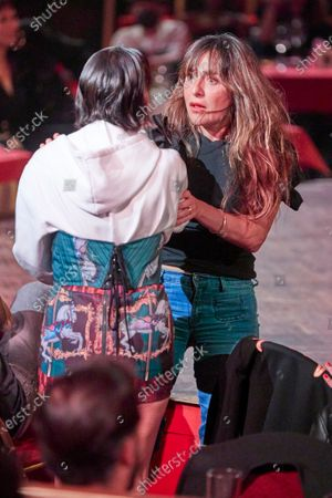 Lorena Castell, Candela Peña attends the fashion show 'Teatro Chino'