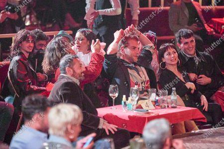 Lorena Castell, Asier Etxendia, Eduardo Navarrete, Pepon Nieto attends the fashion show 'Teatro Chino'