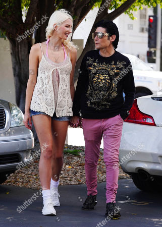Corey Feldman and Courtney Anne Mitchell