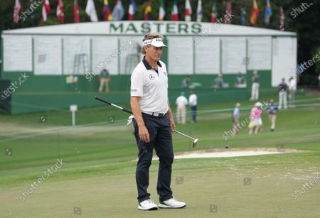 Editorial image of Masters Golf Tournament, Round Two, Augusta, Georgia, USA - 09 Apr 2021