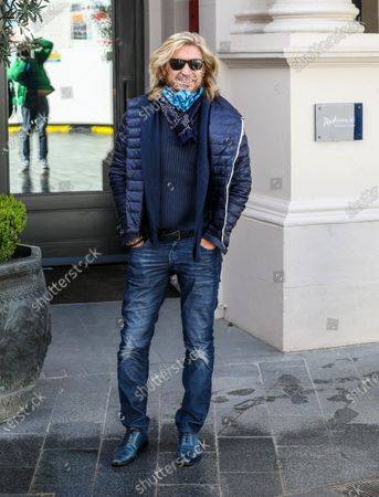 Celebrity Hairdresser Nicky Clarke is spotted out and about in London.