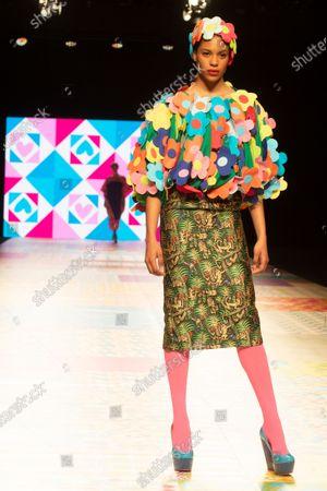 Editorial picture of Agatha Ruiz de la Prada show, Runway, Fall Winter 2021/22, Mercedes Benz Fashion Week, Madrid, Spain - 09 Apr 2021