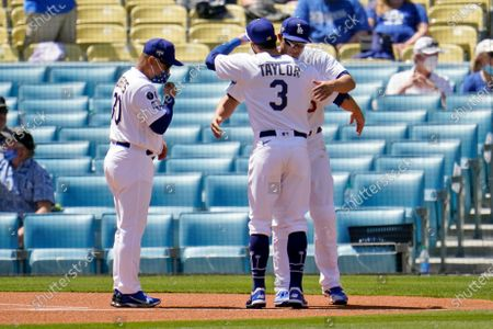 Editorial picture of Nationals Dodgers Baseball, Los Angeles, United States - 09 Apr 2021