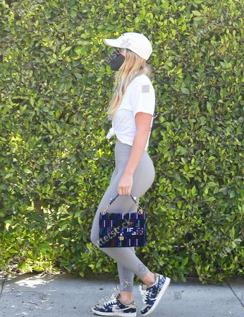 Sofia Richie is seen on her way to a workout