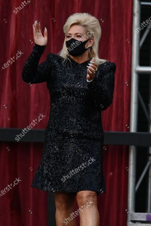 Editorial picture of Theresa Caputo in concert at Backlot Live at The Broward Center for the Performing Arts, Fort Lauderdale, Florida, USA - 09 Apr 2021