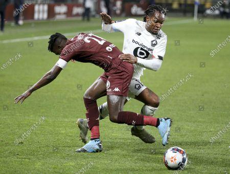 Editorial photo of FC Metz v Lille OSC, Ligue 1, Football, Stade Saint-Symphorien, Longeville-lès-Metz, France - 09 Apr 2021