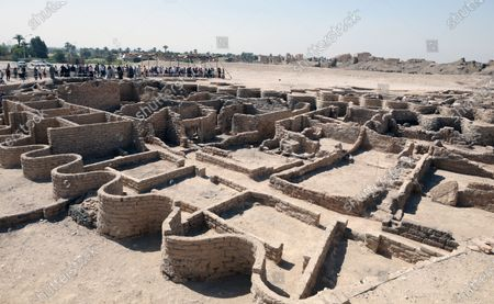 An archeological discovery named the 'Lost Golden City' in Luxor, Egypt,  10 April 2021. Egyptian archaeologists have discovered a 3,000 years old city in Luxor. A mission under Dr. Zahi Hawass found the remains in excavation works that started in September 2020. The scientists believe the find dates back to the reign of Amenhotep III, and is thought to be used afterwards by Tutankhamun and Ay.