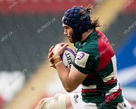 Stock Picture of George Martin of Leicester Tigers