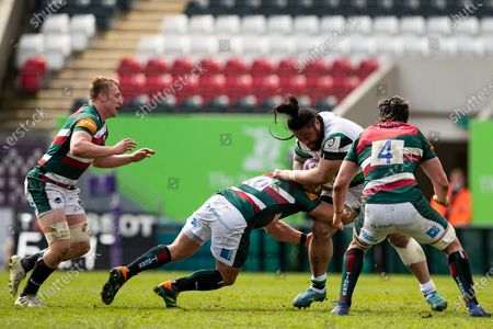 Editorial picture of Leicester Tigers v Newcastle Falcons, UK - 10 Apr 2021