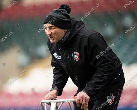 Leicester Tigers Head Coach Steve Borthwick