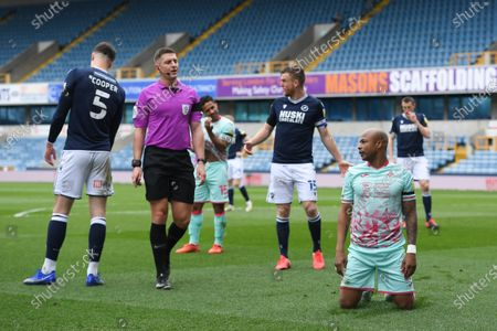 Editorial picture of Millwall v Swansea City - Sky Bet Championship - 10 Apr 2021