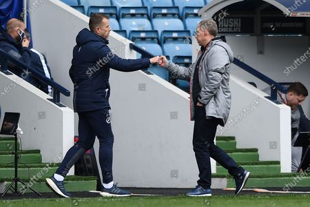 Editorial picture of Millwall v Swansea City, EFL Sky Bet Championship - 10 Apr 2021