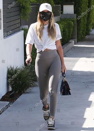 Sofia Richie goes to the gym in West Hollywood