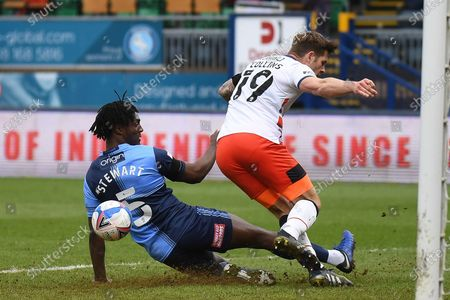 Editorial picture of Wycombe Wanderers v Luton Town, EFL Sky Bet Championship - 10 Apr 2021