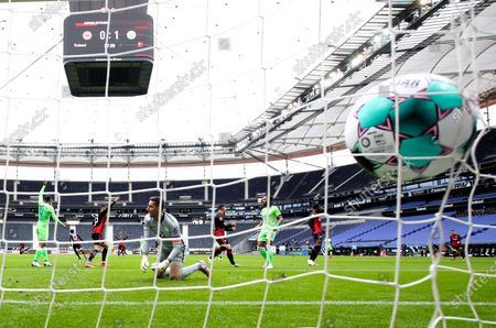 Editorial photo of Eintracht Frankfurt vs Wolfsburg, Germany - 10 Apr 2021