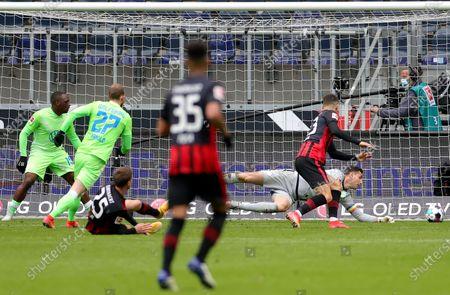 Editorial picture of Eintracht Frankfurt vs Wolfsburg, Germany - 10 Apr 2021