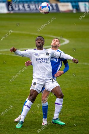 Editorial picture of Gillingham v Shrewsbury Town, EFL Sky Bet League 1 - 10 Apr 2021
