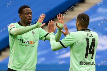 Editorial photo of Soccer Bundesliga, Berlin, Germany - 10 Apr 2021